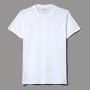 HM2155G-010-M [HANES(ヘインズ) メンズ クールネック Tシャツ 3P ゴールドラベル ホワイト Mサイズ]
