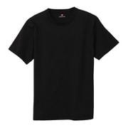 HM1T104-090-XL [HANES(ヘインズ) PERFECT WEIGHT クルーネックTシャツ TEC COMFORTGEAR ブラック XLサイズ]