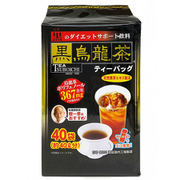日本伝統食品 黒烏龍茶ティーバッグ 4.5g×40p