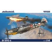 EDU84173 1/48 エアクラフトシリーズ Bf109G-6 ウィークエンドエディション [組立式プラスチックモデル]