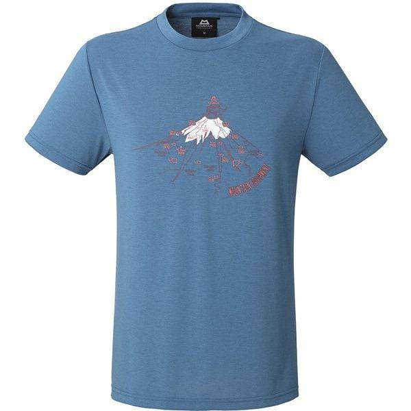 BRITPOP TEE-FUJIYAMA 425754 S71 サクソニーブルー Lサイズ [アウトドア Tシャツ メンズ]