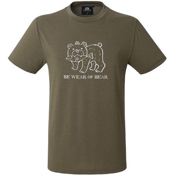 BRITPOP TEE-KUMA 425755 E31 エルムウッド Sサイズ [アウトドア Tシャツ メンズ]