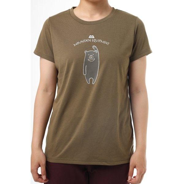 WOMEN'S BRITPOP TEE-KUMA 424722 E31 エルムウッド Lサイズ [アウトドア Tシャツ レディース]
