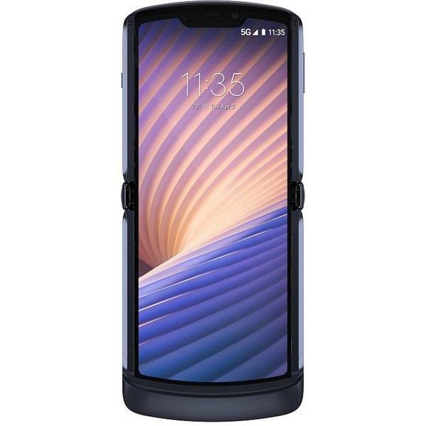 PAJR0005JP [SIMフリースマートフォン razr 5G 6.2インチ液晶/Android 11.0/メインメモリ 8GB/内部ストレージ 256GB ポリッシュグラファイト]