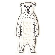 BEAR ソープディッシュ Brown Bear