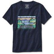パフォーマンス・グラフィック・ティー 511553 Classic Navy/90s Logo Lサイズ [アウトドア カットソー レディース]