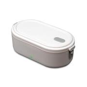 RM-110TE-WH [ROOMMATE お弁当箱型炊飯器 HITORI炊き ホワイト]