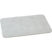 珪藻土配合ソフトバスマット グレー 60×40cm