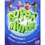 Super Minds American English Level 1 Student's Book with DVD-ROM [洋書ELT]