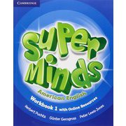 Super Minds American English Level 1 Workbook with Online Resources [洋書ELT]