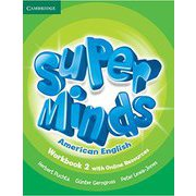 Super Minds American English Level 2 Workbook with Online Resources [洋書ELT]