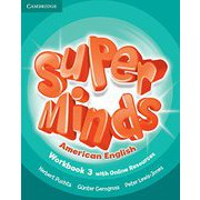 Super Minds American English Level 3 Workbook with Online Resources [洋書ELT]