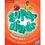 Super Minds American English Level 4 Student's Book with DVD-ROM [洋書ELT]