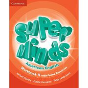 Super Minds American English Level 4 Workbook with Online Resources [洋書ELT]