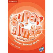 Super Minds American English Level 4 Teacher's Resource Book with Audio CD [洋書ELT]