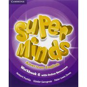 Super Minds American English Level 6 Workbook with Online Resources [洋書ELT]