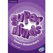 Super Minds American English Level 6 Teacher's Resource Book with Audio CD [洋書ELT]