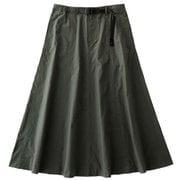 ウェザーマーメイドスカート WEATHER MERMAID SKIRT GLSK-21S024 DESERT GREEN Mサイズ [アウトドア スカート]