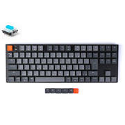 K1-91-RGB-Blue-JP [Keychron K1 ワイヤレス・メカニカルキーボード(91キー) RGBライト - 日本語(テンキーレス)-Gateron青軸]