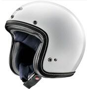 CLASSIC-AIR ホワイト サイズ:59-60 オートバイ用 [ジェットヘルメット]