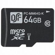 PC-MM64G-K [マイクロSDXCメモリーカード 64GB 高速データ転送]