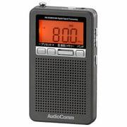 RAD-P360N-H [DSPポケットラジオ FMステレオ/AM メタリックグレー]