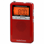 RAD-P360N-R [DSPポケットラジオ FMステレオ/AM メタリックレッド]