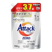 アタックZERO(ゼロ) つめかえ用 大容量 超特大3.7倍 1350g [洗濯用 液体洗剤]