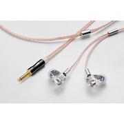 CF-IEM with Clear force Ultimate CL 4.4φ [インイヤーモニター]