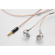 CF-IEM Stella with Clear force Ultimate CL 4.4φ [インイヤーモニター]