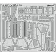 EDU481047 1/48 エッチングパーツ Fw190F-8 エッチングパーツ (エデュアルド用) [プラモデル用パーツ]