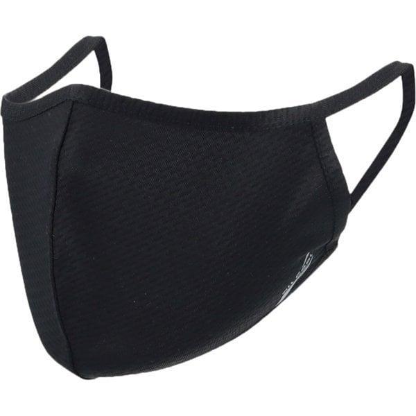 AC-MASK003L-BK [スポーツクールマスク Lサイズ 大きめサイズ ブラック COOL MASK 洗えるマスク 1枚入り]