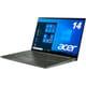 SF514-55T-H56Y/G [ノートパソコン 14.0型/Core i5-1135G7/メモリ 16GB/SSD 512GB/ドライブなし/Windows 10 Home/オフィスなし/ミストグリーン]