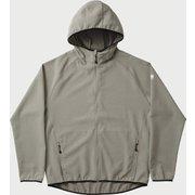 camp zip hoodie 101234 Aluminium Mサイズ [アウトドア パーカー メンズ]