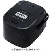 SR-VSX181-K [スチーム&可変圧力IHジャー炊飯器 おどり炊き 1升炊き IoT対応 ブラック]