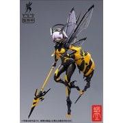 BEE-03W WASP GIRL ブンちゃん [塗装済可動フィギュア 全高約165mm 1/12スケール]