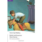 Pearson English Readers Level 5 British and American Short Stories [洋書ELT]
