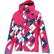 PRINT OUTER JACKET ONJ94P43 F.Pink F024P SSサイズ [スキーウェア ジャケット メンズ]