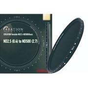 CREATION Variable ND2.5-500/Basic 82mm [可変式NDフィルター クリエーションシリーズ]