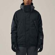 バロジャケット BARO JACKET G11323P ブラック(BK) XSサイズ [スキーウェア ジャケット ユニセックス]