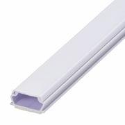 DZ-AMT21-W [00-9514 ABSモール 2号 1m 白 テープ付]