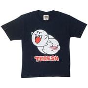 22823717 マリオ KIDS テレサ フェイス Tシャツ NAVY 130cm [キャラクターグッズ]