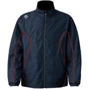 ウインドブレーカージャケット DTM-3910 (INR)インクグレー×レッド XOサイズ [スポーツウエア ジャケット ユニセックス]