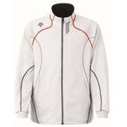 トレーニングジャケット DTM-1910B (WHR)ホワイト×レッド XOサイズ [スポーツウエア ジャケット ユニセックス]