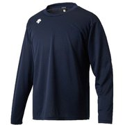ワンポイントロングスリーブシャツ DMC-5801LB (UNV)Uネイビー XOサイズ [スポーツウェア 長袖Tシャツ ユニセックス]
