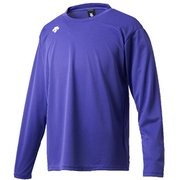 ワンポイントロングスリーブシャツ DMC-5801LB (PPL)パープル XOサイズ [スポーツウェア 長袖Tシャツ ユニセックス]