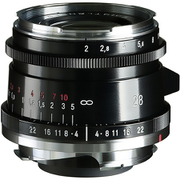 ULTRON Vintage Line 28mm F2 Aspherical TypeII VM BLACK [28mm F2 VMマウント ブラック]