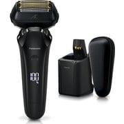 ES-CLS9N-K [メンズシェーバー LAMDASH(ラムダッシュ) リニアモーター6枚刃 全自動洗浄充電器・セミハードケース付 クラフトブラック ES-LS9N-K同等品]