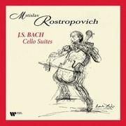 バッハ:無伴奏チェロ組曲 LP ロストロポーヴィチ WARNER-9029.507914 [クラシックLP 輸入盤]