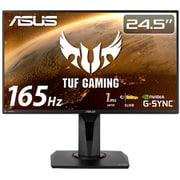 VG259QR [ASUS VG259QR-R TUFゲーミングモニター24.5型/IPS/フルHD/165Hz/1ms(MPRT)/PS5対応/G-SYNC/HDMI/DP/高さ調整/縦回転/3年保証]
